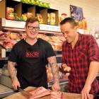 Dunedin men Travis Thomson (left) and Jeremy Aldworth feature in My Kitchen Rules battle of the...