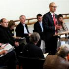 Dunedin North Labour candidate Dr David Clark addresses a health and welfare candidates' meeting....