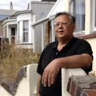Dunedin property investor and Otago Property Investors Association president Cliff Seque stands...