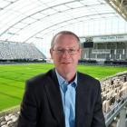 Dunedin Venues Management Ltd chief executive Darren Burden says he has no regrets about quitting...