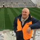Dunedin Venues Management Ltd chief executive David Davies at Forsyth Barr Stadium yesterday....