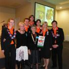 Dutch Rotary study exchange group members were hosted by Cromwell Rotary last week. Pictured are ...