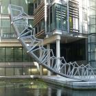 Examples of the work of contemporary British designer  Thomas Heatherwick. The Rolling Bridge,...