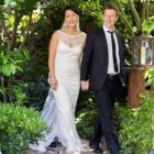 Facebook co-founder and CEO Mark Zuckerberg and Priscilla Chan, who got married at the weekend....