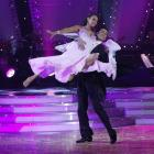 Facebook friend Suzanne Paul, in a waltz with professional dancer Stefano Olivieri, on TV's...