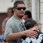 Family and friends at the Manurewa house could only hug and cry together when told of the little...