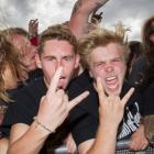 Fans at the Westfest music festival. Photo NZ Herald.