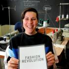 Ethical fashion designer Fiona Clements, of Dunedin, is urging residents to turn their clothes...