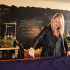 Fashion designer Sarah Aspinall in her Crawford St Studio. Photo by Craig Baxter.