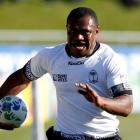 Fiji, including Vereniki Goneva, seen here playing against Namibia in Rotorua on Saturday, are...