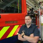 Firefighter Mike Harrison enjoys learning the ropes after four months in the role of fire risk...