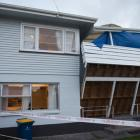Five people were taken to hospital after the deck of the West Auckland house collapsed during a...
