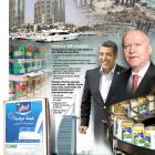 Fonterra Brands managing director for Middle East, Africa and CIS, Amr Farghal (left), and Mark...