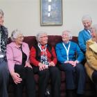 Former Dunstan Hospital nurses Jenny Saunders, of Dunedin, Helen Love, Rae Rowe, Beryl Smith and...