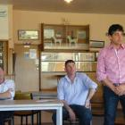 Former Meat Industry Excellence members (from left) Don Morrison, of Waikaka Valley, Richard...
