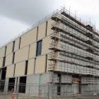 Forsyth Barr Stadium nears completion.