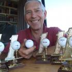 Frank Plieger has achieved his sixth hole in one in six years, including two in six days. Photo...