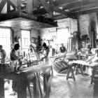 Frederick Howell and Co's Piano Factory, Dunedin 1898. Photo from Hocken Collections