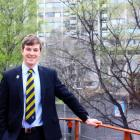 From gown to town: Otago University Students' Association president Logan Edgar will leave his...