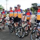 From left are David Spessot (Australia), Jacob Grieve (Dunedin), Gavin Mason (Wanaka), Alex...