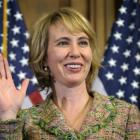 Gabrielle Giffords is shown in file photo.  (AP Photo/Susan Walsh/file)