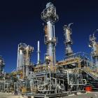 Origin Energy's onshore gas processing plant, in Victoria, is one of the assets under a takeover...