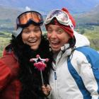 Gay Ski Week QT organisers Mandy (left) and Sally Whitewoods are ready  for their second year in...