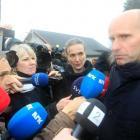 Geir Lippestad, lawyer of accused Norwegian militant Anders Behring Breivik, speaks to media...