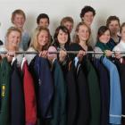 Getting ready for a mufti day tomorrow in support of the Otago Community Hospice are (back row,...