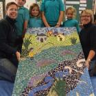 Glenavy School pupils Ben Tiffen (8), Lucy Hellewell (7), Brittany Caldwell (11) and Ella...