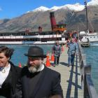 Glenorchy couple Ruth-Ann Anderson and Dave Anderson, dressed as a vicar and his wife, were first...