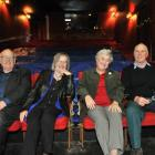 Globe Theatre supporters (from left) Stan Rodger, Rosemary Beresford, Lorraine Isaacs and Don...