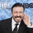 Golden Globes host Ricky Gervais. Photo Reuters