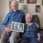 Gordon and Joan Homer, of Alexandra,  who celebrate their platinum wedding anniversary today....