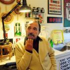 Gordon Clarke in his kitchen. Photo by Craig Baxter.