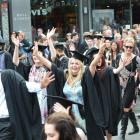 Graduations are a 'significant contributor' to Dunedin's domestic visitor spending figures. Photo...