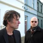 Graeme Downes and Darren Stedman. Photo by Gerard O'Brien.