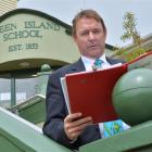 Green Island School principal Steve Hayward is questioning the Ministry of Education's decision ...