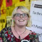 Green Party politician Holly Walker is pushing for students to get involved in politics. Photo by...