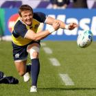 Halfback Rory Lawson will captain Scotland against Argentina in Wellington on Sunday. Photo Reuters
