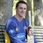 Hamish Rutherford contemplates his selection for the Otago cricket team.