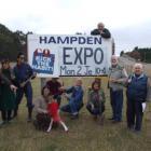 Hampden Energy Expo team members are ready for the Hampden Energy Expo on Monday....