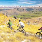 Hand-built along one of New Zealand's longest water races, the cross-country mountain bike trail...