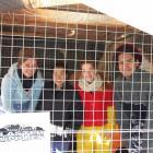 Hannah Allan (17), Asami Takizawa (17), Rowan Biggs (17) and Sergio Alves (18) in the minutes...