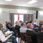 he audience at a Hinds workshop on investing in facilities such as cow barns and covered feed...
