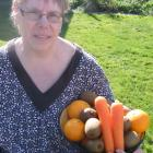 Healthy-eating advocate Joan Hulling with some of her favourite snacks. Ms Hulling is encouraging...