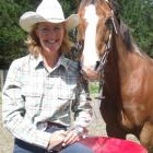 Henrietta Purvis and Midge are making a name for themselves in barrel-racing circles.  Photo by...