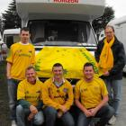 hese Australian rugby supporters are visiting Queenstown this week, after the Christchurch...