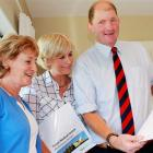 High Country Medical Trust trustees Joy Paterson (left), Priscilla Cameron and chairman Simon...