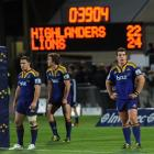 Highlanders players (from left) Shaun Treeby, Ben Smith and John Hardie reflect on what could...